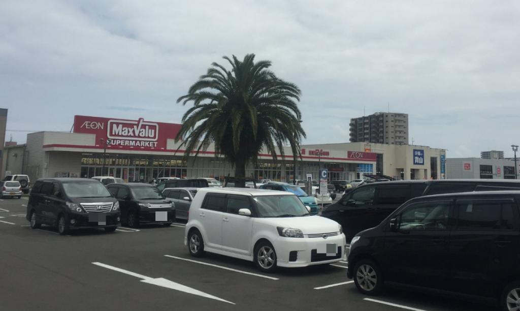 ピソリーノ宮崎駐車場