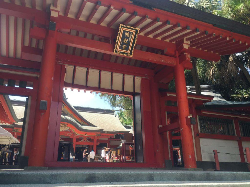 青島神社境内