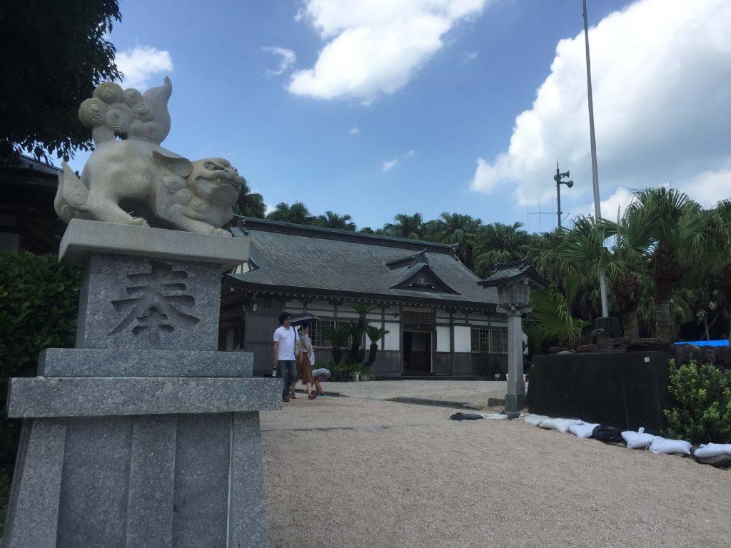 青島神社入り口1