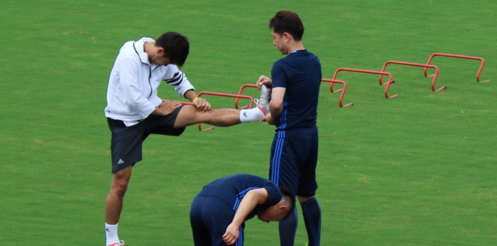香川真司の公開トレーニング02
