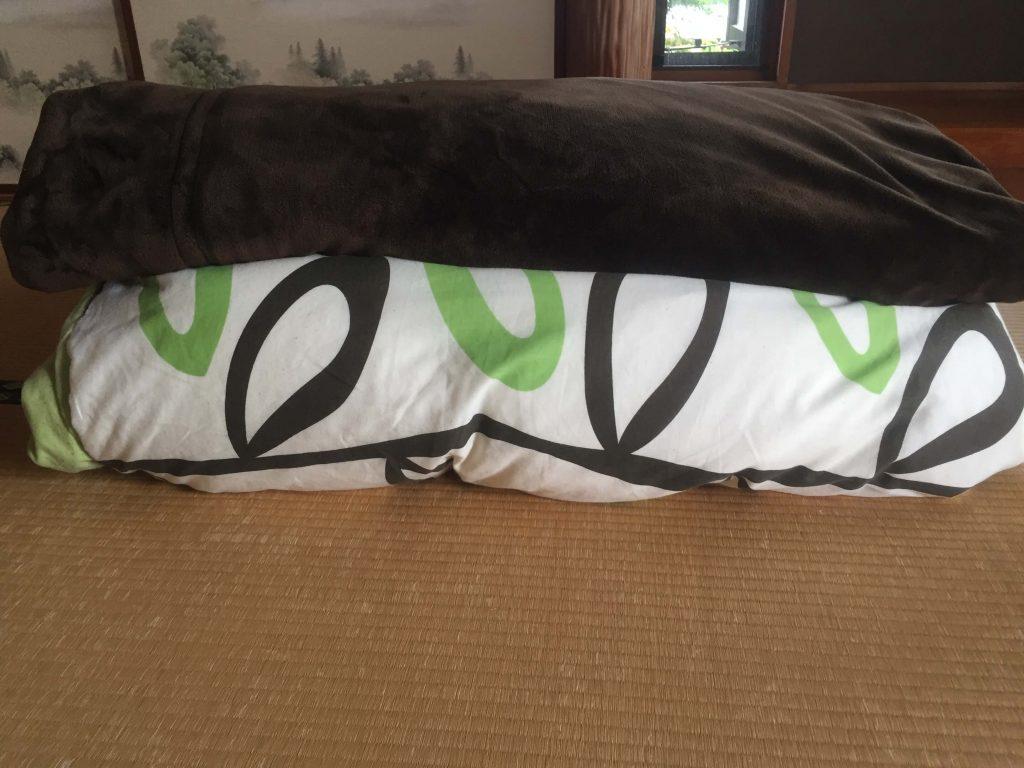 ダイソーの布団圧縮袋で圧縮するもの1
