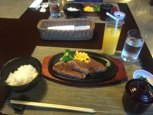 レストラン和の高千穂牛サーロインステーキコース4