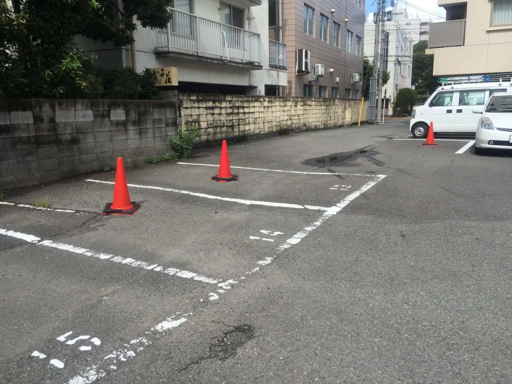 レガロホテル宮崎の駐車場2