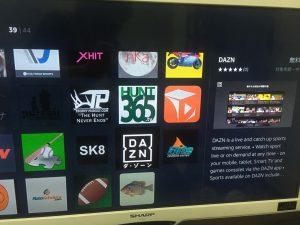FireTVStickのDAZNアプリ3