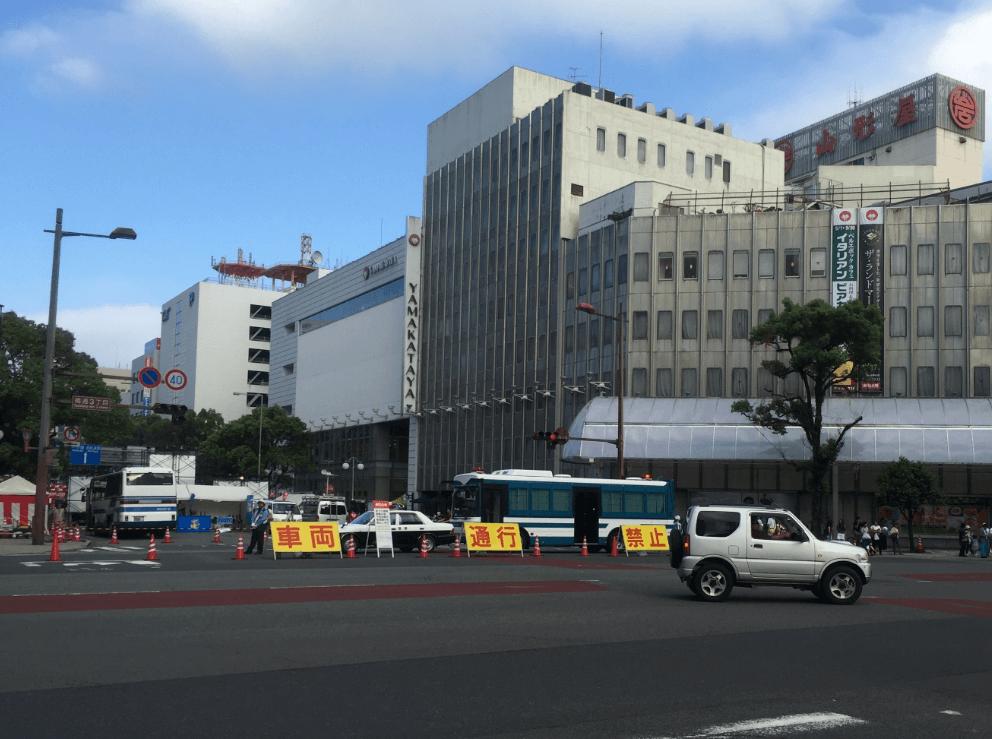 まつり宮崎2016交通規制2