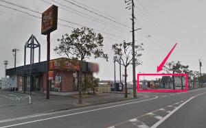 くら寿司宮崎大島店の場所